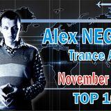 Alex NEGNIY - Trance Air - TOP10 of NOVEMBER 2014