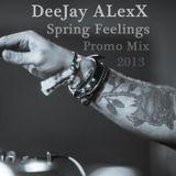 DeeJay ALexX - Spring Feelings 2013 (Promo Mix)