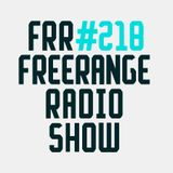 Freerange Radioshow 218 - March 2018  - One hour with Jimpster ft 45 minute Aroop Roy Guestmix