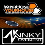 Kinky Movement exclusive MyHouseYourHouse Radio Broadcast on Chris Hurley's Underground intelligence