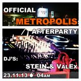 Stein live set recorded @ Wake up (Sven Vath Afterparty 24 November)