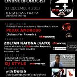 20h 58-21h 58 (GMT+1): Zoltán Katona (KATO) (HOMERADIO/Radio host/Subwoofer Records) live@Homeradio