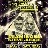 Miamisoul b2b Steve Judge - Live Coronita Commando vol. 2 Irish Castle Pub (02.05.2105)