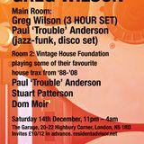 Paul 'Trouble' Anderson Vintage House Mix