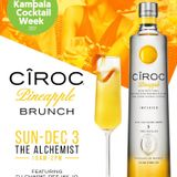 CIROC pineapple BRUNCH #KlaCocktailWeek DJ Simples Set