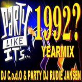 DJ C.o.d.O. & Party DJ Rudie Jansen - Yearmix 1992 (Section Yearmix)