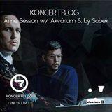 Koncertblog Âme Session w/ Akvárium & by Sobek & Artwork by Dori Pazonyi
