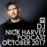 DJ Nick Harvey - Podcast October 2017