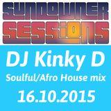 DJ Kinky D 16 Oct 2015