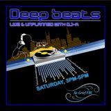 Deep Beats Vol 1 Live & Unplanned on No Grief FM - DJ-K