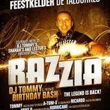 dj Mh!mz @ Razzia - dj Tommy B-day bash 23-02-2013