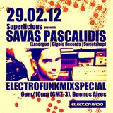 Superlicious presents 'Savas Pascalidis' [DE] | February 29th, 2012