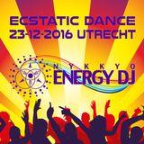 Ecstatic Dance 23-12-2016 Utrecht - Nykkyo Energy DJ