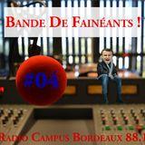 Bande De Fainéants ! #04 - Du tricot, des sauterelles et des taxis sans chauffeur