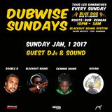DUBWISE SUNDAYS - Lovers Rock NuRoots  @ Blue Dog Bar Montreal-Canada 2017