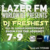 lazer fm worldwide jungle cover show journey anniversary