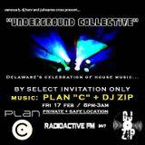 Underground Collective 001.3 - Bonez+Harv+Zip+Slip