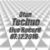 07.12.16 Techno LiveRecord