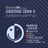 DistractAir - Joseph Garber & TSR Ottos -  GZ5 A PLEASURE WARM UP  26.8.16