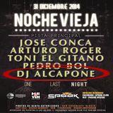 DJ ALCAPONE- noche vieja Spook 2014