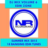 Nico Romano Dj Mix Volume 6 EDM Zone - Summer 2015