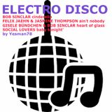 ELECTRO DISCO (Bob Sinclar, Felix Jaehn, Jasmine Thompson, Gisele Bundchen, Social Lovers)