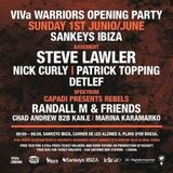 Patrick Topping @ VIVa Warriors Opening Party Sankeys Ibiza 1/6/14