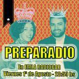 PREPARADIO en EMLA RADIOBAR - Toquelau 'Bella y Oscura' (1-8-2014)
