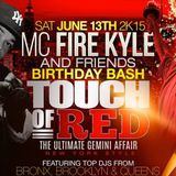 Touch Of Red 2015 ( Promo Mix)