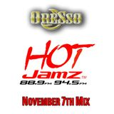 HotJamz Radio - Nov 7th Mid-Day Mix (Clean)