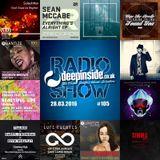 DEEPINSIDE RADIO SHOW 105 (Diephuis Artist of the week)