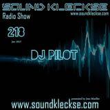 Sound Kleckse Radio Show 0218 - DJ Pilot - 02.01.2017