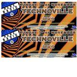 TechnoVille Podcast for Pure Radio Holland - Halloween Edition: 2h new stuff + 1h oldskool vinyl