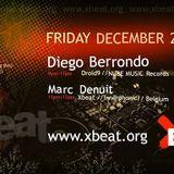 Diego Berrondo - Xbeat Radio Show (Belgium) 20.12.2019