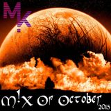 Mix Of October 2015 (mixed by MARV!N K!M)