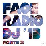 FACERADIO DJ'13 (Lo mejor de 2013 parte 2)