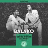 MIMS Guest Mix: Balako (Greco-Roman Records, Rio de Janeiro)