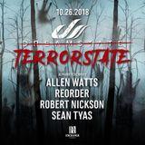 Sean Tyas - Dreamstate 'Terrorstate' at Exchange (26.10.2018)