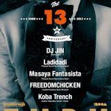 2013.8.2 BREAKTHROUGH @ The Room. Back-2-back by Ladidadi, Masaya Fantasista & FREEDOMCHICKEN.