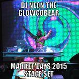 Chicago Market Days 2015 Stage Set
