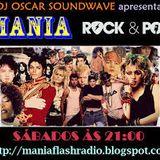 Mania Flash Radio - Mania Rock & Pop - Programa 1 (06-01-2018) DJ BLACK FLAVA