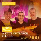 Armin van Buuren - A State of Trance 900 (Part 3) + XXL Guest Mix by Giuseppe Ottaviani