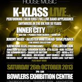 K-Klass Live @ Anthems Of House, Bowlers, Manchester 26 October 2013