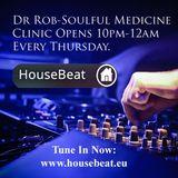 Dr Rob House Beat Radio Christmas Eve. Festive Soulful Medicine..