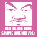 DJ G.OLDIE SAMPLE LOVE MIX VOL1