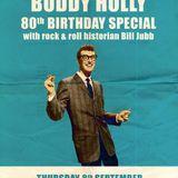 Glossop Record Club - Buddy Holly 80th Birthday Special (September 2016)