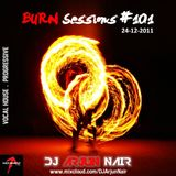 BURNsessions #101 Live set - DJ ARJUN NAIR December 2011
