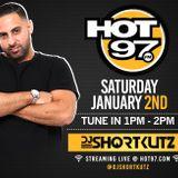 DJ SHORTKUTZ LIVE ON HOT 97 NEW YEARS EVE MIX