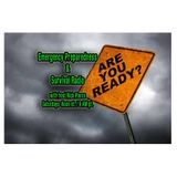 Are You Ready?  Emergency Preparedness & Survival- EP 10, Prepping with Kids