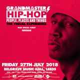 Grandmaster Flash - Belgrave Music Hall - 27.07.2018